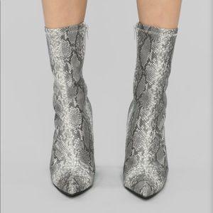 Fashion nova booties